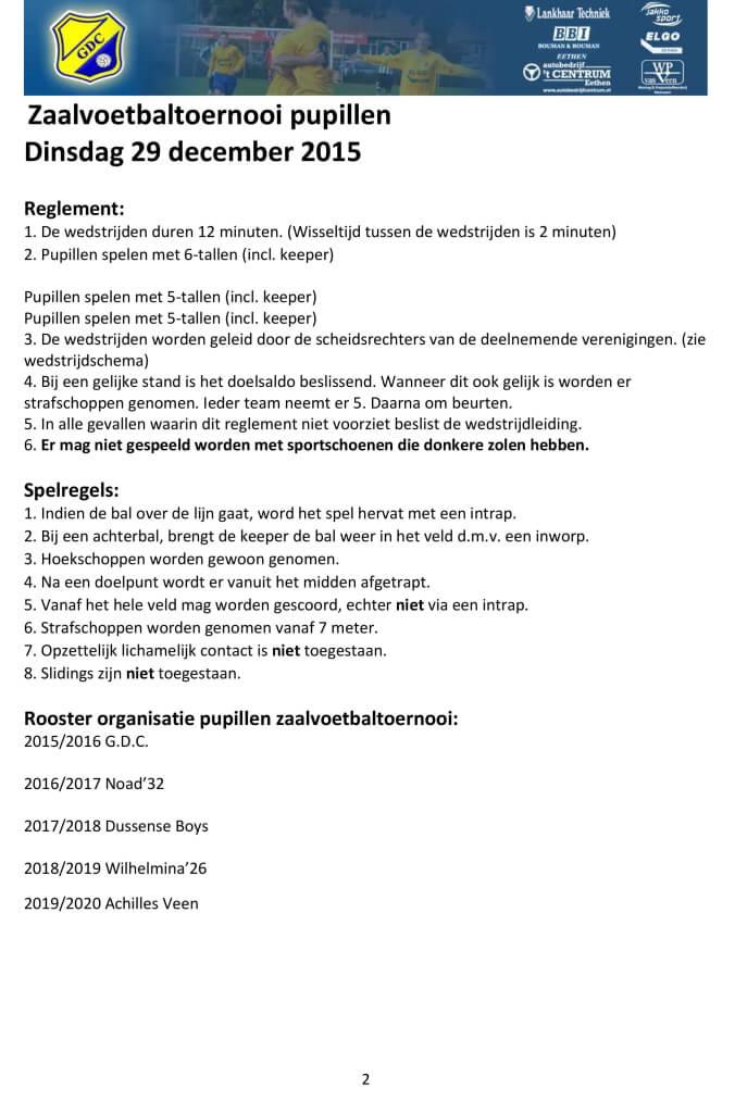 Microsoft Word - 20151111 Toernooiprogramma Zaalvoetbal Pupillen