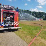 Brandweer Dussen bedankt voor het sproeien van de velden!